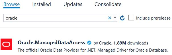 Connect to Oracle Data Source from  NET – A Console App